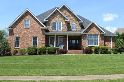 Clarksville Single Family Home For Sale: 2456 Settlers Trce
