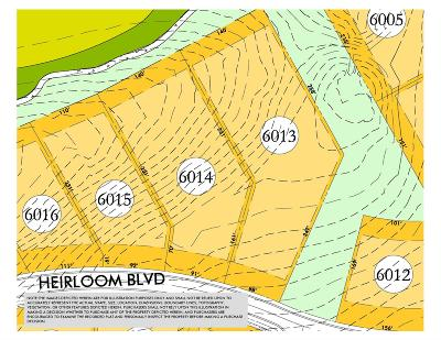 Williamson County Residential Lots & Land For Sale: 8443 Heirloom Blvd (Lot 6013)