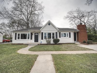 Gallatin Single Family Home Under Contract - Showing: 658 Trimble Ave