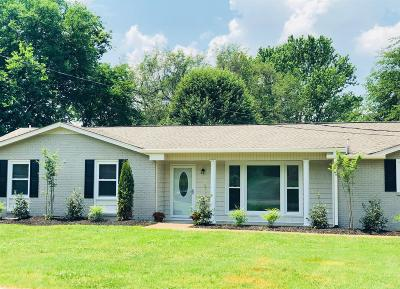 Hendersonville Single Family Home Under Contract - Showing: 324 Donna Dr