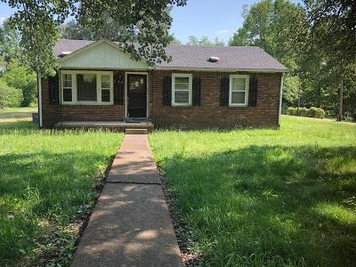 Clarksville Single Family Home Active - Showing: 736 Tommy Oliver Rd