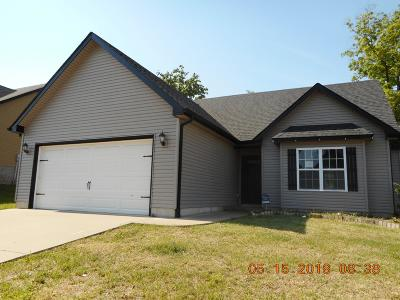 Clarksville Single Family Home Active - Showing: 414 Leslie Wood Dr