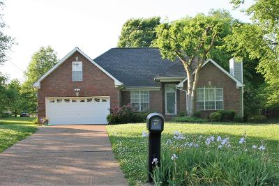Hendersonville Single Family Home Under Contract - Showing: 104 Yorkshire Ct