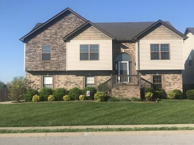 Clarksville Single Family Home Active - Showing: 3496 Sikorsky Ln