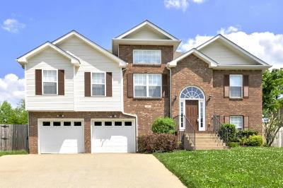 Clarksville Single Family Home Under Contract - Showing: 3407 Quicksilver Ln