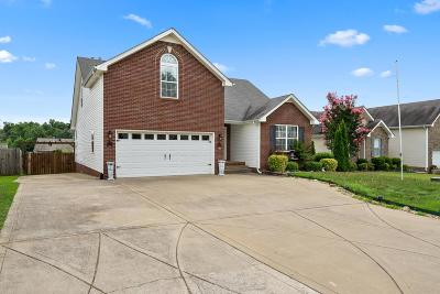 Clarksville Single Family Home For Sale: 2791 Ridgepole Dr