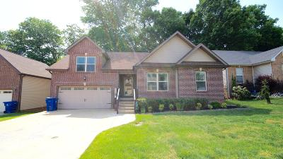 Clarksville Single Family Home Under Contract - Showing: 524 Parkvue Village Way