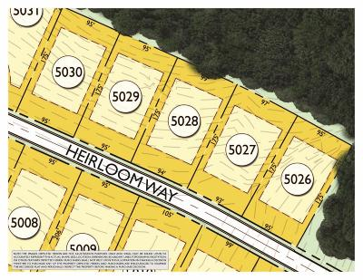 College Grove Residential Lots & Land For Sale: 8219 Heirloom Blvd (Lot 5028)