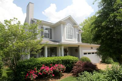 Franklin Single Family Home Under Contract - Showing: 214 Camellia Ct