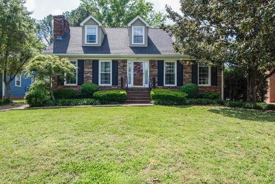 Brentwood Single Family Home Under Contract - Showing: 607 Foxborough Sq N