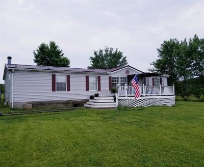 Murfreesboro Single Family Home For Sale: 11929 Mona Rd