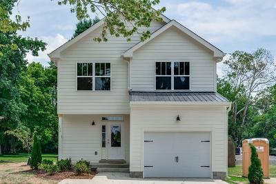 Old Hickory Single Family Home For Sale: 109 Hickerson St