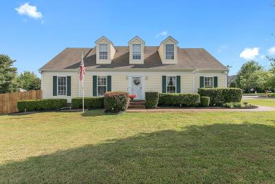 Thompsons Station TN Single Family Home Under Contract - Showing: $259,900