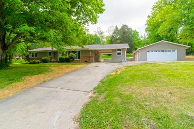 Clarksville Single Family Home For Sale: 608 Dean Rd