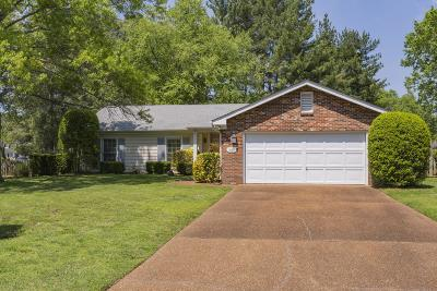 Franklin Single Family Home Under Contract - Showing: 1032 Boxwood Dr