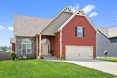Clarksville Single Family Home For Sale: 3742 Tradewinds Terrace Ct.