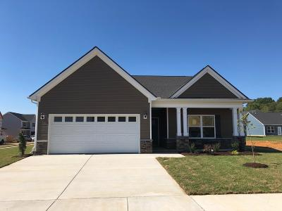 Spring Hill Single Family Home For Sale: 301 Turney Lane Lot 39