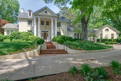 Belle Meade Single Family Home For Sale: 4410 Honeywood Dr