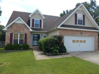 Clarksville Rental Under Contract - Not Showing: 342 Broadmore Dr