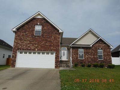 Clarksville TN Single Family Home Under Contract - Showing: $145,000