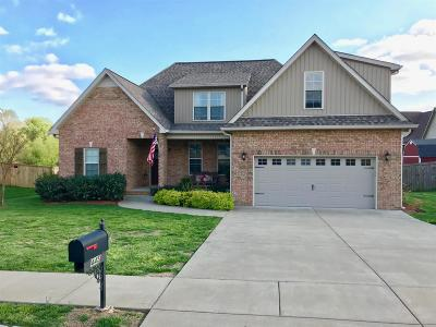 Clarksville Single Family Home For Sale: 445 Sedgwick Ln