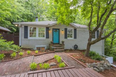 Nashville Single Family Home Under Contract - Showing: 658 Hicks Rd