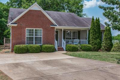Spring Hill  Single Family Home Under Contract - Showing: 2717 Mollys Ct