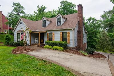 Brentwood  Single Family Home Under Contract - Showing: 1429 Red Oak Dr