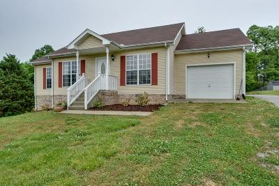 Pleasant View Single Family Home Under Contract - Showing: 1083 Heatherwood Rd
