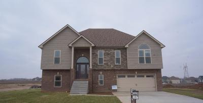 Clarksville Single Family Home Under Contract - Showing: 508 Autumnwood Farms