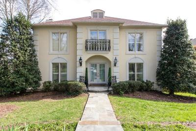Nashville Single Family Home For Sale: 92 Victoria Park