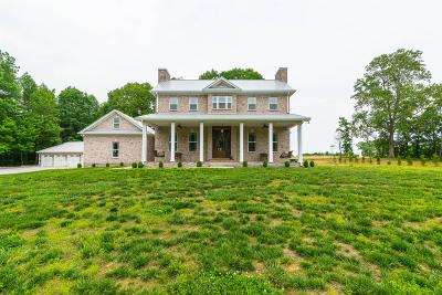 Ashland City Single Family Home Under Contract - Showing: 1111 Triangle Rd
