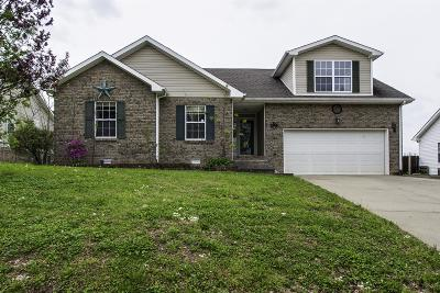 Clarksville Single Family Home Under Contract - Showing: 1652 Cedar Springs Cir