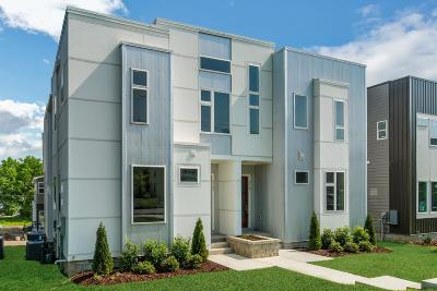 Nashville Single Family Home For Sale: 914 Southside Pl