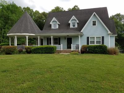 Ashland City Single Family Home For Sale: 3628 Sweethome Rd