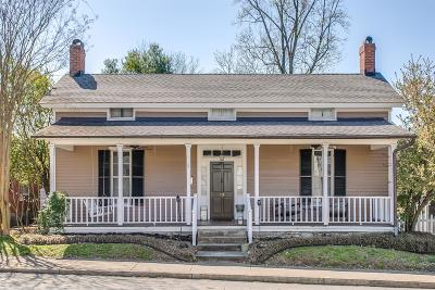 Franklin Single Family Home Under Contract - Showing: 117 7th Ave N