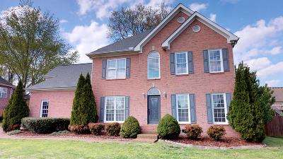 Thompsons Station TN Single Family Home For Sale: $372,900