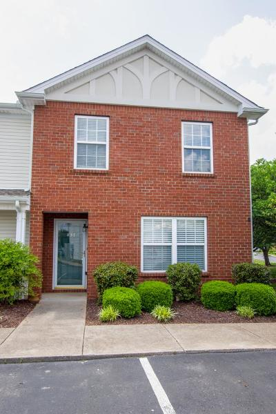 Murfreesboro Condo/Townhouse Under Contract - Not Showing: 437 Shoshone Pl