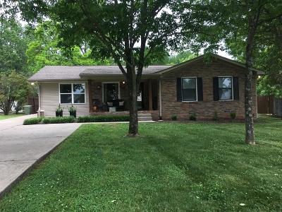 Lebanon Single Family Home Under Contract - Showing