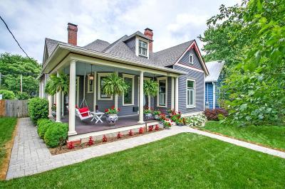 Nashville Single Family Home For Sale: 1215 Woodland St