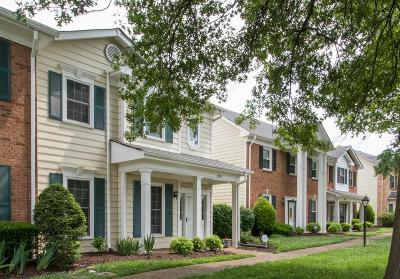 Nashville Condo/Townhouse For Sale: 8953 Sawyer Brown Rd