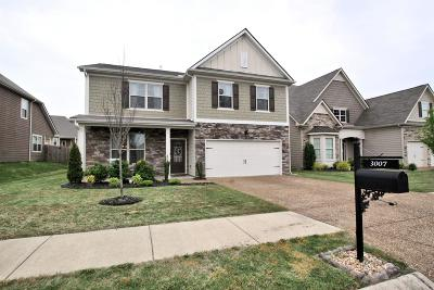 Spring Hill Single Family Home For Sale: 3007 Alan Dr