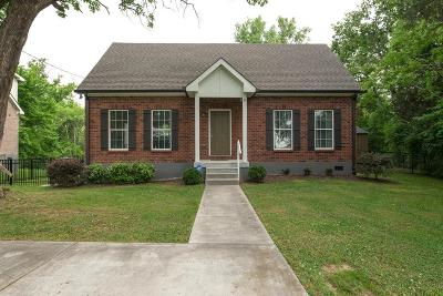 Nashville Single Family Home For Sale: 448 Welshwood Dr
