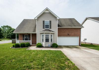 Clarksville Single Family Home For Sale: 2571 Cider Dr
