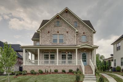 Thompsons Station TN Single Family Home Under Contract - Showing: $599,900