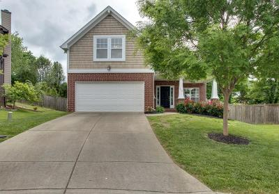 Mount Juliet Single Family Home For Sale: 510 Camden Ct