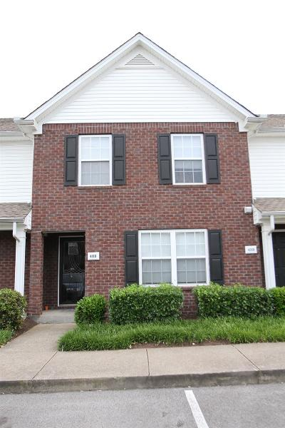 Lavergne Condo/Townhouse Under Contract - Showing: 4010 Rg Buchanan Dr #4010