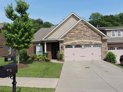 Lebanon TN Single Family Home Under Contract - Showing: $284,900