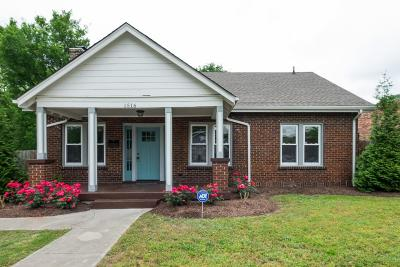 Davidson County Single Family Home For Sale: 1516 16th Ave N