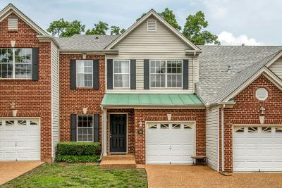 Nashville Condo/Townhouse For Sale: 38 Fawn Creek Pass